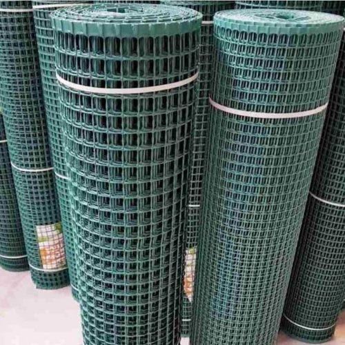 пластиковая сетка для забора темно зеленая