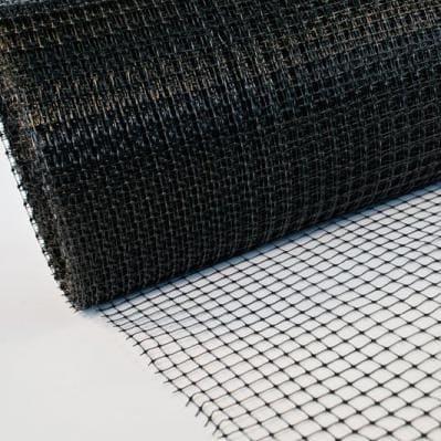 сетка пластиковая вольерная черная