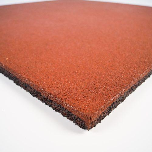 оранжевая резиновая плитка