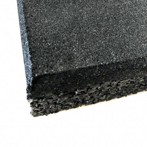 черное резиновое покрытие